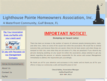 Tablet Preview of lighthousepointehomeowners.org